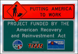 Money wasted on Obama Handout Signs